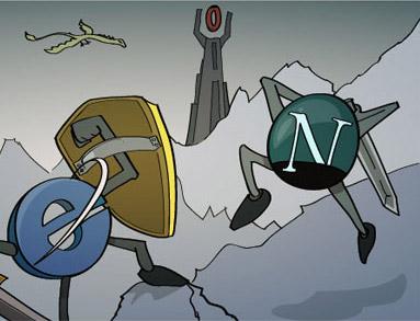 La guerra de los navegadores, Browser Wars